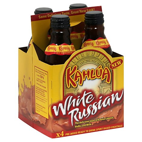Kahlua White Russian Ready To Drink - 4-200 Ml