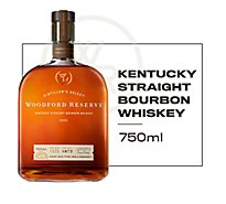 Woodford Reserve Whiskey Bourbon Kentucky Straight 90.4 Proof - 750 Ml