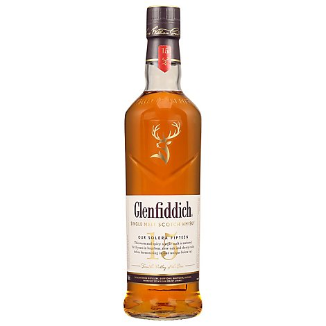 Glenfiddich Scotch 15 Year Scotch Whisky 80 Proof - 750 Ml