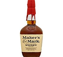 Makers Mark Whisky Bourbon Kentucky Straight 90 Proof - 750 Ml