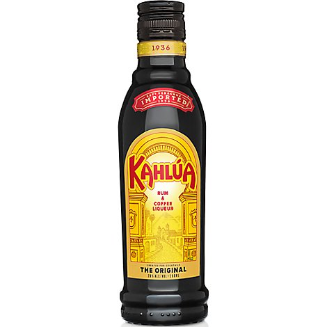 Kahlua Coffee Liqueur 40 Proof - 200 Ml