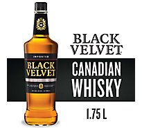 Black Velvet Canadian Whisky Plastic Bottle 80 Proof - 1.75 Liter