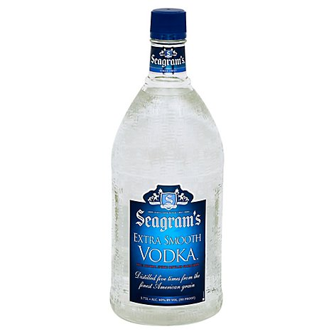 Seagrams Vodka Extra Smooth - 1.75 Liter