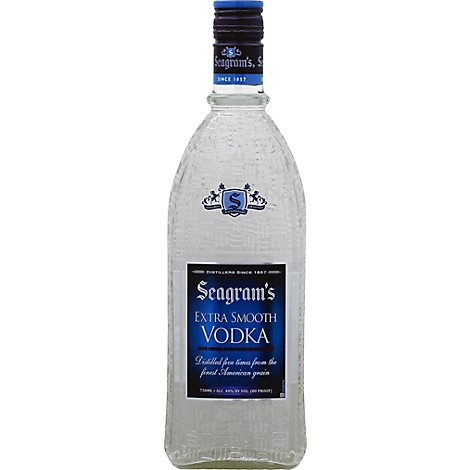 Seagrams Vodka Extra Smooth - 750 Ml