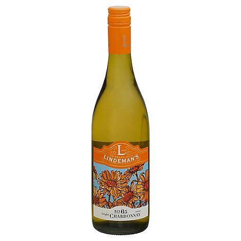 Lindemans Wine Chardonnay Bright Bin 65 - 750 Ml
