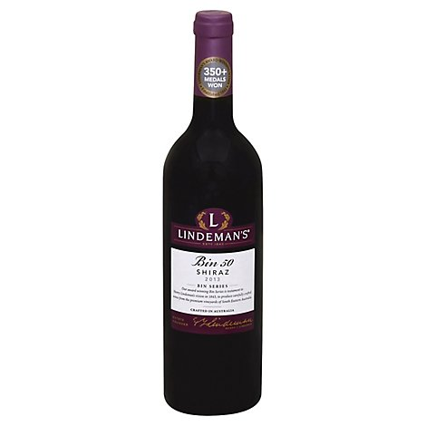 Lindemans Wine Shiraz Smooth Bin 50 - 750 Ml