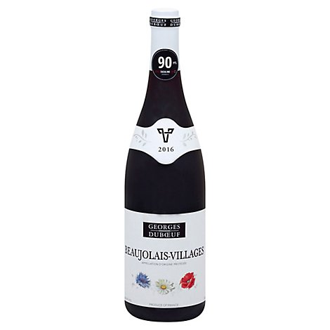 Georges Duboeuf Beaujolais-Villages Red Wine - 750 Ml