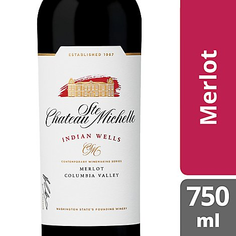 Chateau Ste. Michelle Indian Wells Series Wine Merlot - 750 Ml