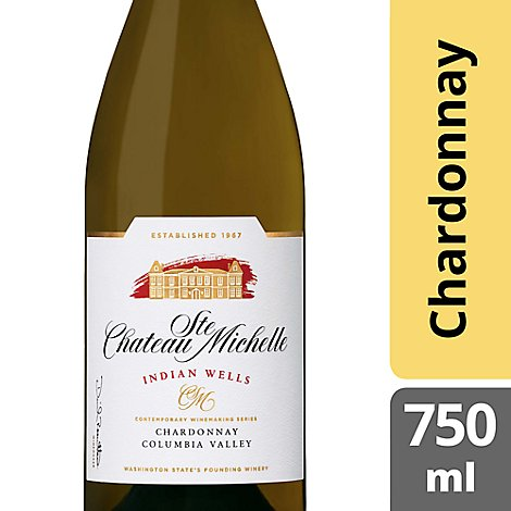 Chateau Ste Michelle Indian Wells Wine Chardonnay - 750 Ml