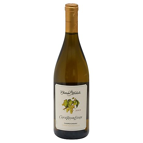 Chateau Ste. Michelle Wine Chardonnay Canoe Ridge Estate - 750 Ml