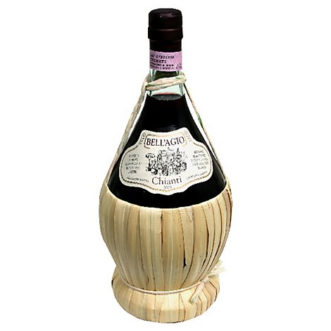 BellAgio Wicker Basket Chianti Wine - 1.5 Liter