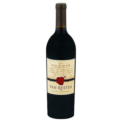 Van Ruiten Cabernet Shiraz Wine - 750 Ml