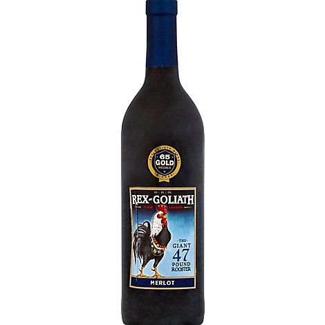 Rex Goliath Wine Red Merlot - 750 Ml