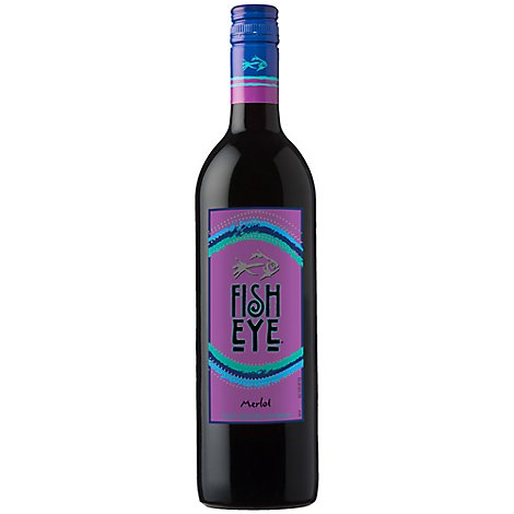 Fisheye Wine Red Merlot - 750 Ml