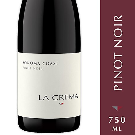 La Crema Wine Red Pinot Noir Sonoma Coast - 750 Ml