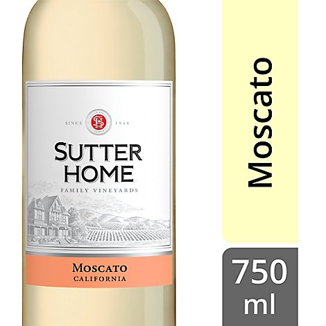 Sutter Home Wine Moscato California - 750 Ml