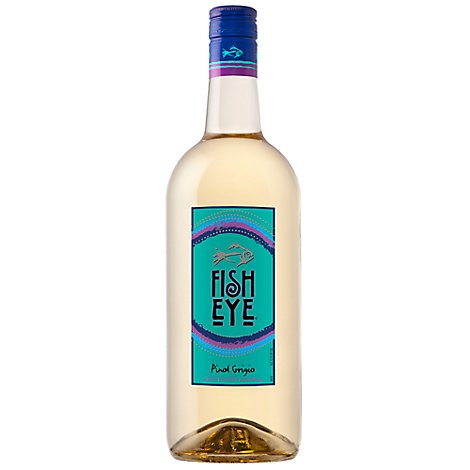 Fish Eye Wine White Pinot Grigio South Eastern Australia 2013 - 1.5 Liter