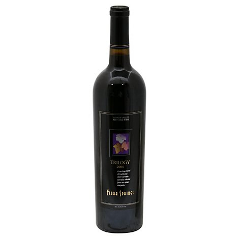 Flora Springs Trilogy Red Wine - 750 Ml