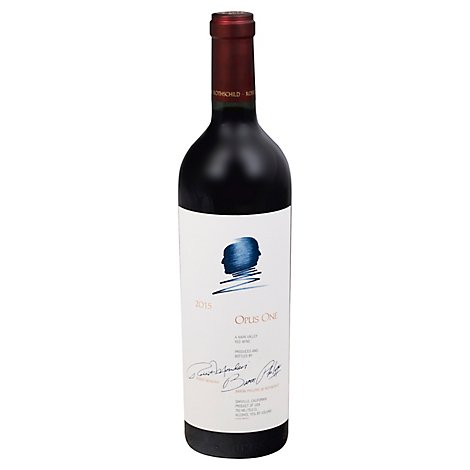 Opus One Wine Red Napa Valley - 750 Ml
