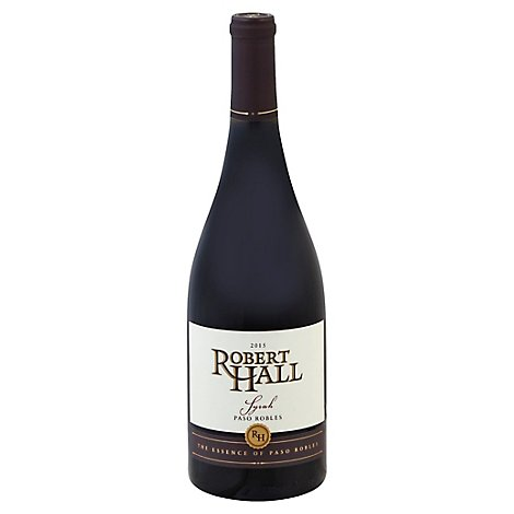 Robert Hall Paso Robles Syrah Wine - 750 Ml