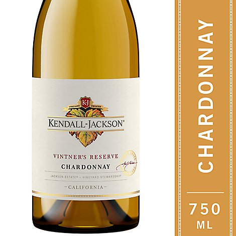 Kendall-Jackson Vintners Reserve Wine White Chardonnay - 750 Ml