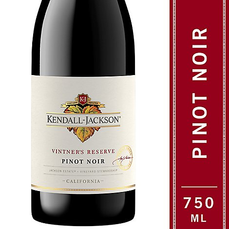 Kendall-Jackson Vintners Reserve Wine Red Pinot Noir - 750 Ml