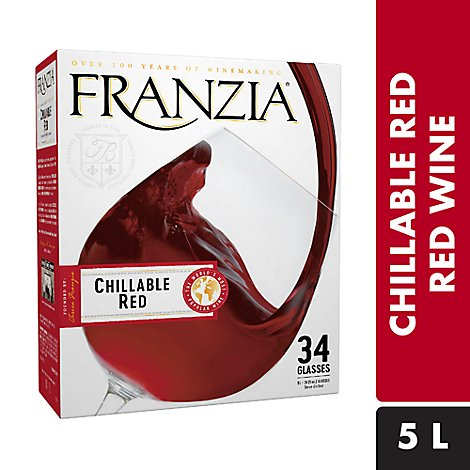 Franzia Wine Red Chillable Red - 5 Liter