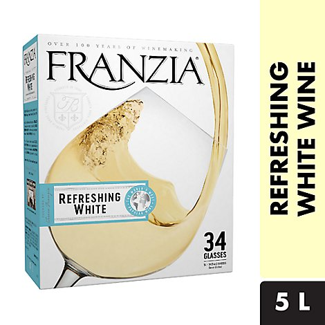 Franzia Wine White Refreshing White - 5 Liter