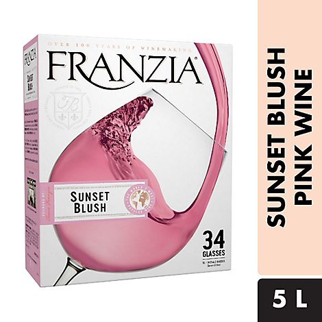 Franzia Wine Pink Sunset Blush - 5 Liter