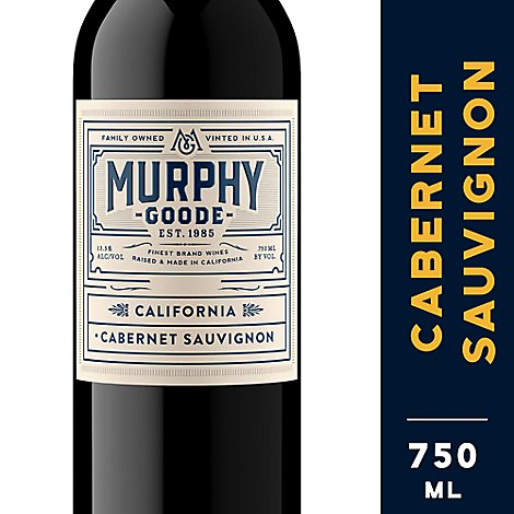 Murphy-Goode Wine Red Cabernet Sauvignon California - 750 Ml