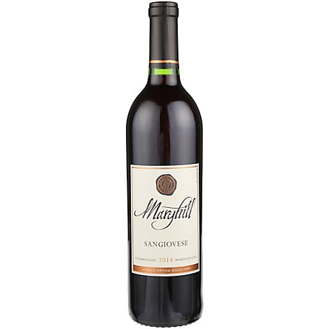 Maryhill Sangiovese Wine - 750 Ml