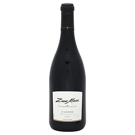 Zaca Mesa Z Cuvee Red Wine - 750 Ml