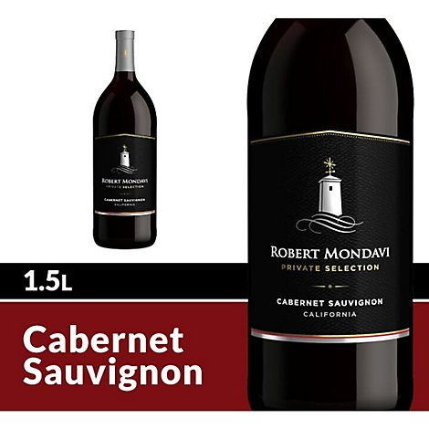 Robert Mondavi Private Selection Wine Red Cabernet Sauvignon - 1.5 Liter