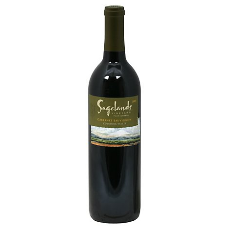 Sagelands Vineyard Wine Columbia Valley Cabernet Sauvignon - 750 Ml