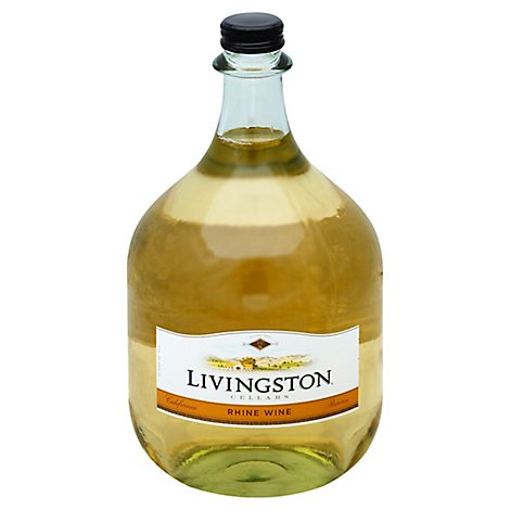 Livingston Cellars Classic Rhine Wine - 3 Liter
