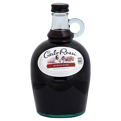 Carlo Rossi Burgundy Red Wine - 1.5 Liter