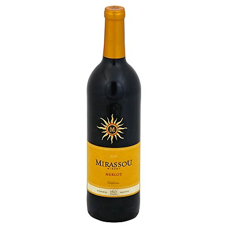 Mirassou Merlot Red Wine - 750 Ml