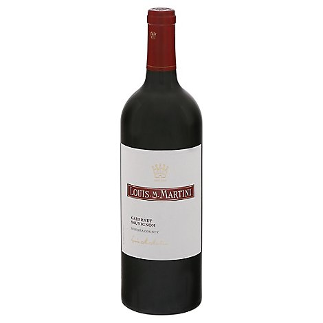Louis M. Martini Wine Cabernet Sauvignon Sonoma Country - 750 Ml