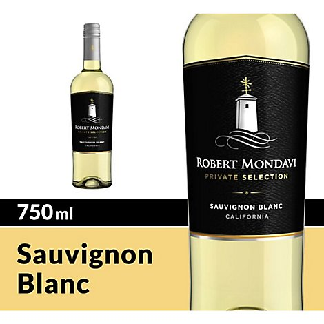 Robert Mondavi Private Selection Wine White Sauvignon Blanc - 750 Ml