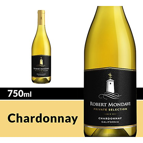 Robert Mondavi Private Selection Chardonnay White Wine - 750 Ml