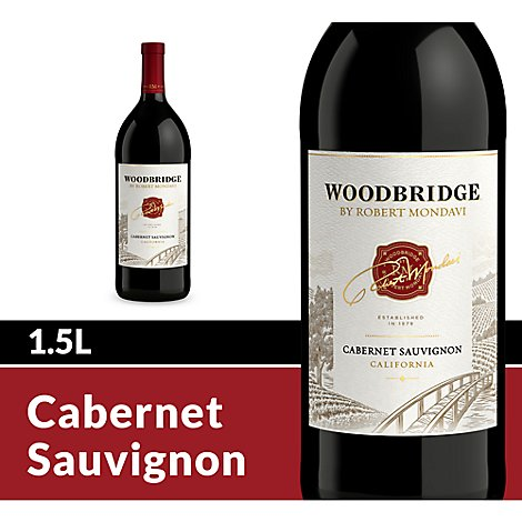 Woodbridge by Robert Mondavi Wine Red Cabernet Sauvignon - 1.5 Liter