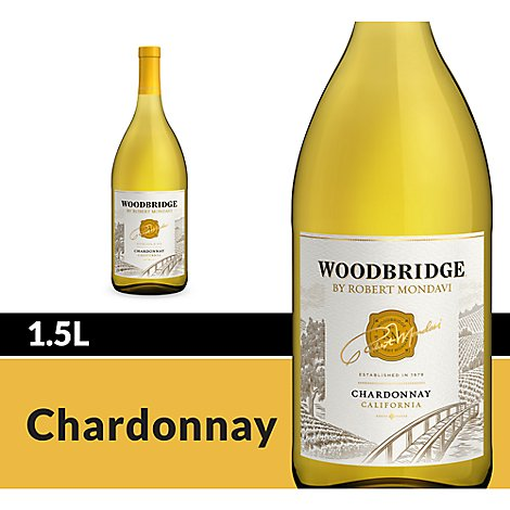 Woodbridge by Robert Mondavi Wine White Chardonnay - 1.5 Liter