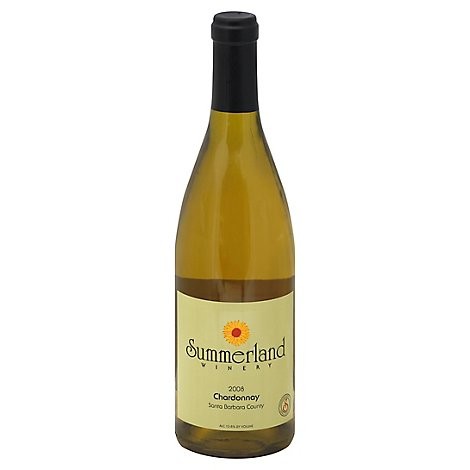 Summerland Santa Barbara County Chardonnay Wine - 750 Ml