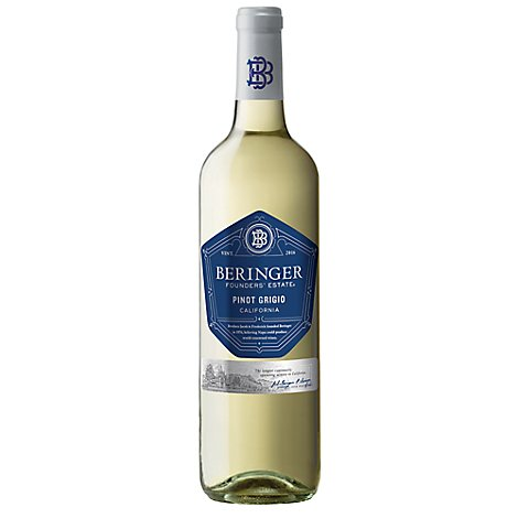 Beringer Wine Founders Estate Pinot Grigio - 750 Ml