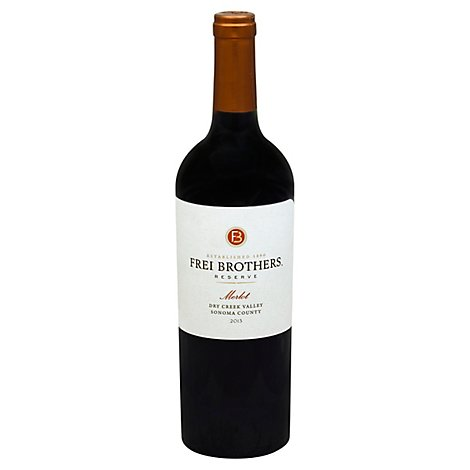 Frei Brothers Reserve Sonoma County Merlot Red Wine - 750 Ml
