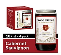 Woodbridge by Robert Mondavi Wine Cabernet Sauvignon Red Bottles - 4-187 Ml