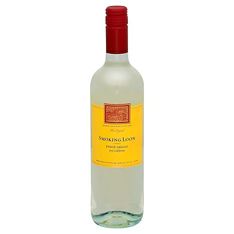 Smoking Loon Pinot Grigio Wine - 750 Ml