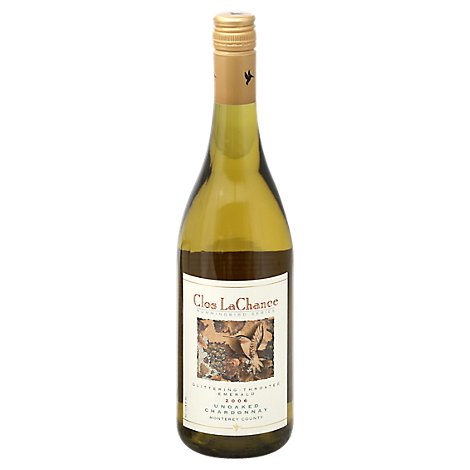 Clos La Chance Monterey County Chardonnay Wine - 750 Ml