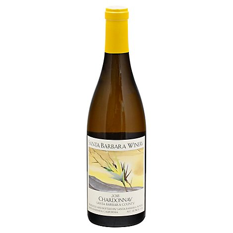 Santa Barbara Chardonnay Wine - 750 Ml