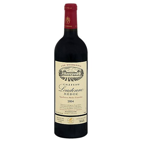 Chateau Loudenne Bordeaux Wine - 750 Ml